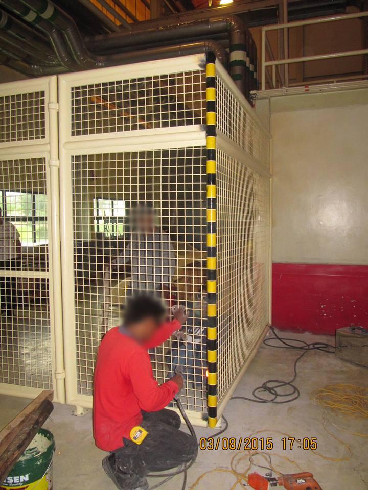 Installation of Metal Closure @ San Fernando Pampanga - Joules